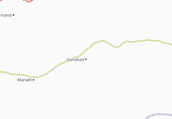 Kaart Plattegrond Gunabad