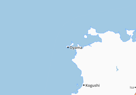 Carte-Plan Oyama