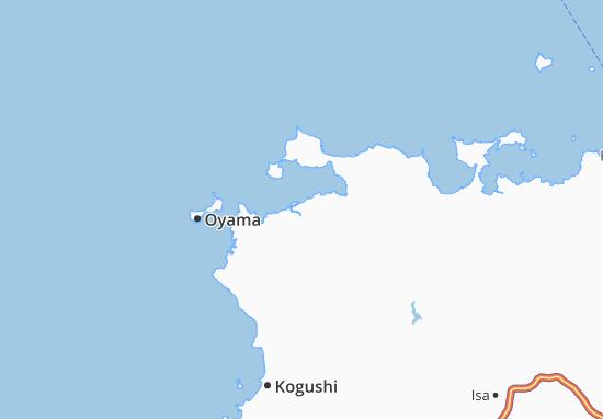 Higashi-Fukawa Map