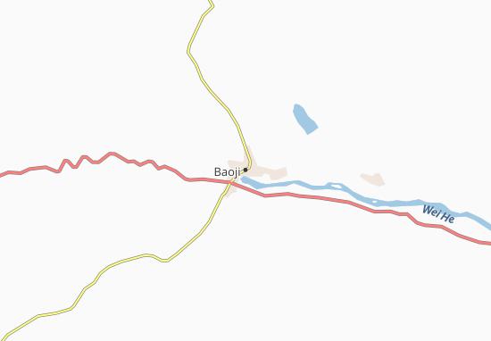 Mapas-Planos Baoji