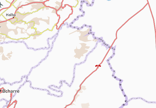 Mapa Plano Hermel