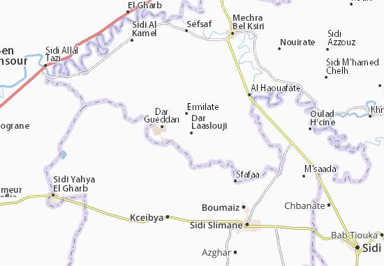 Carte-Plan Dar Laaslouji