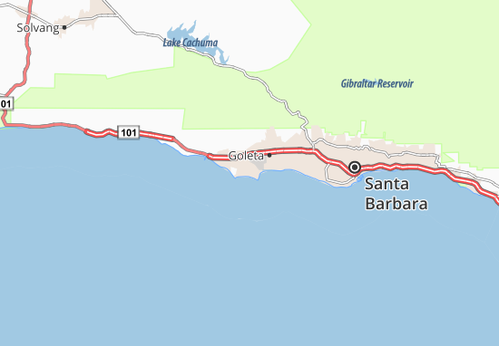 Isla Vista Map
