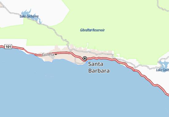 Mapas-Planos Santa Barbara