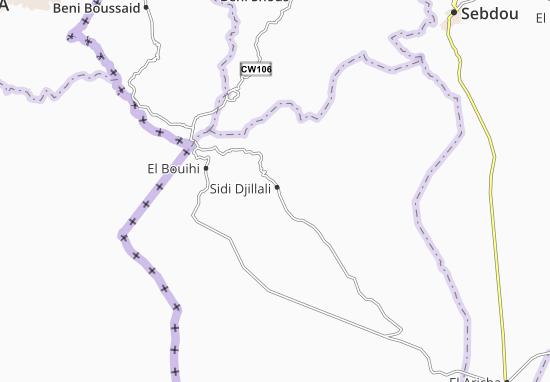 Mappe-Piantine Sidi Djillali