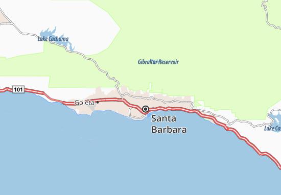 Mapas-Planos Mission Canyon