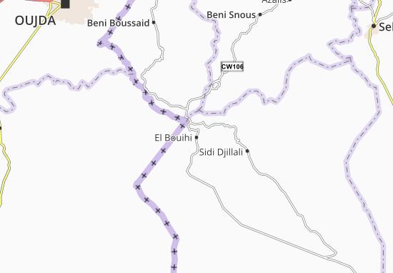 Carte-Plan El Bouihi