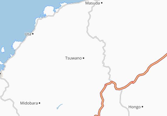Tsuwano Map