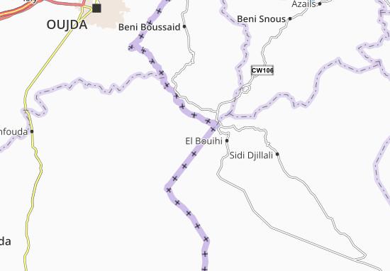 Carte-Plan Sidi Boubker