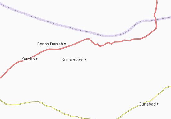 Kaart Plattegrond Kusurmand