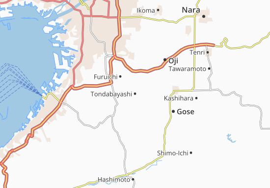 Mappe-Piantine Tondabayashi