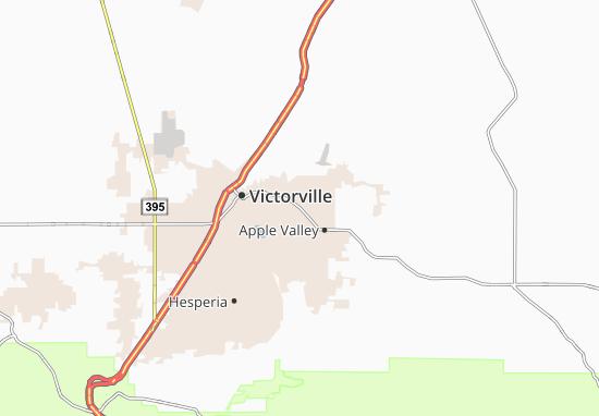 Mappe-Piantine Apple Valley