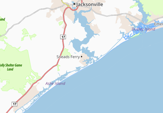 Sneads Ferry Map