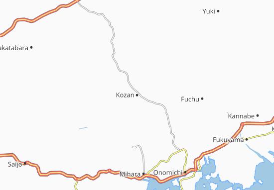Kozan Map