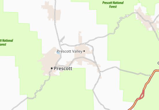 Mappe-Piantine Prescott Valley
