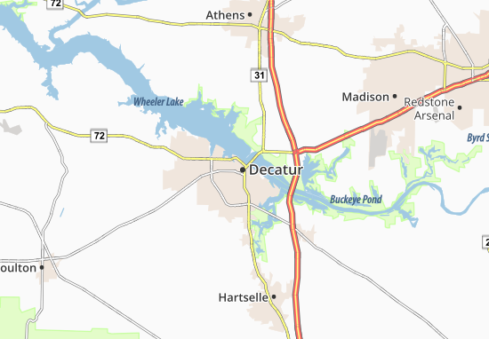 Carte-Plan Decatur