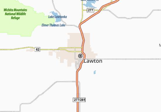 Carte-Plan Lawton