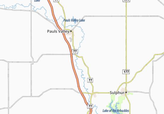 Wynnewood Map