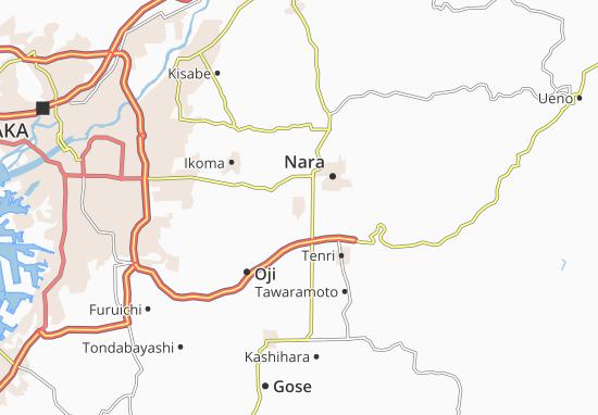 Yamato-Koriyama Map
