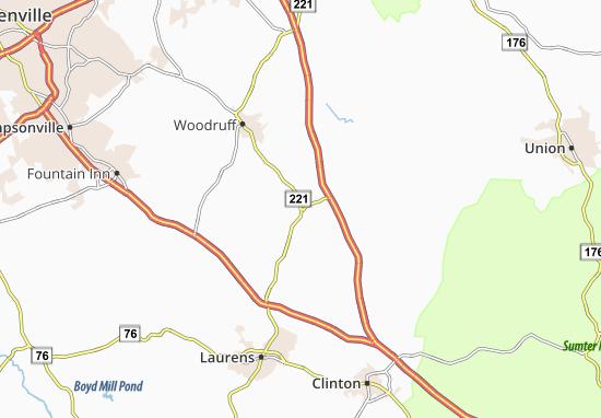 Enoree Map