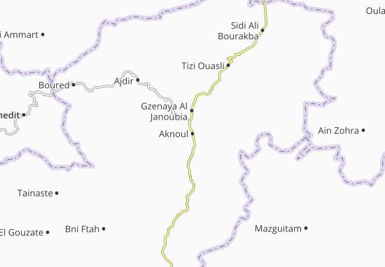 Carte-Plan Aknoul