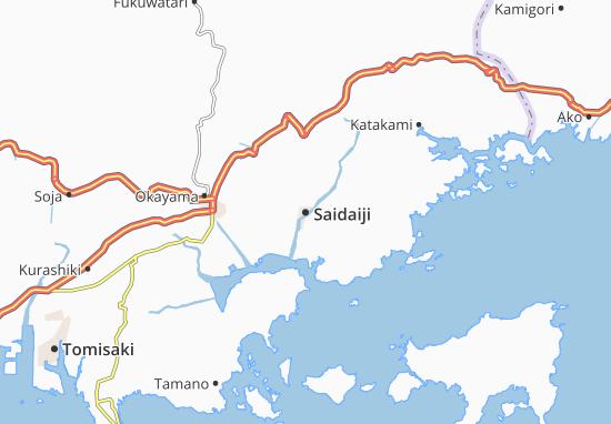 Saidaiji Map