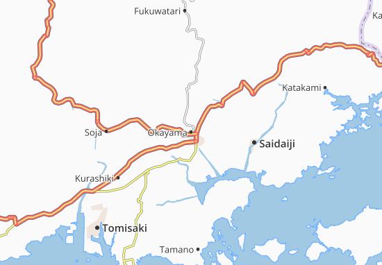 Okayama Map