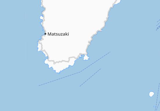 Kaart Plattegrond Shimoda