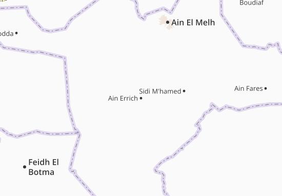 Carte-Plan Ain Errich