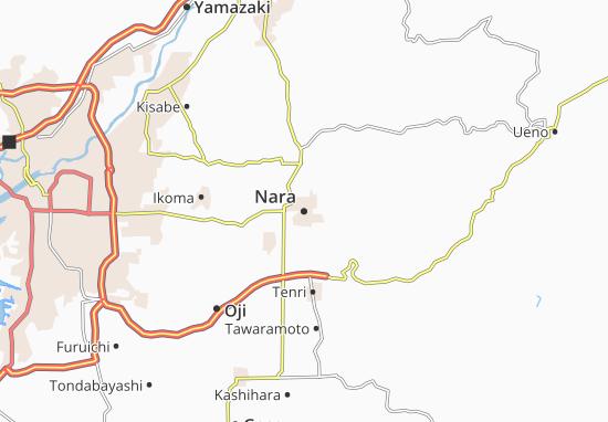Mapa Plano Nara