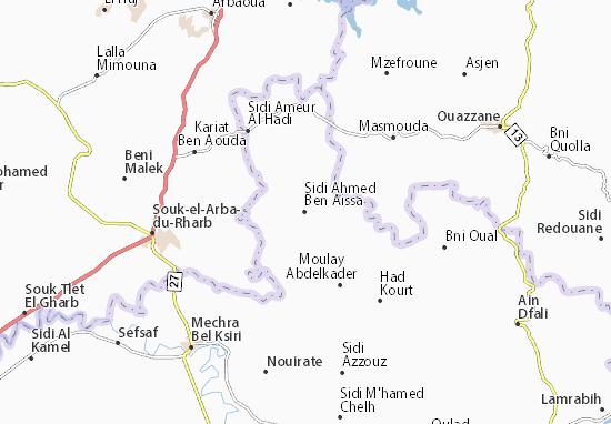 Mapas-Planos Sidi Ahmed Ben Aissa