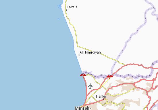 Mapa Plano Al Hamidiyah
