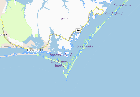 Marshallberg Map