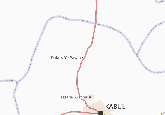 Dakow Ye Payan Map