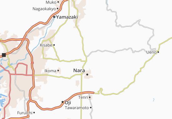 Kaart Plattegrond Kizu