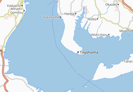Kaart Plattegrond Utsumi
