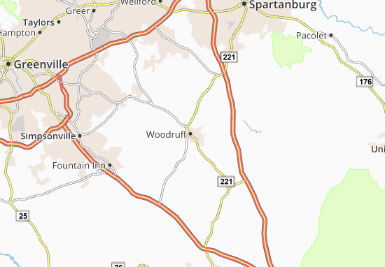 Woodruff Map