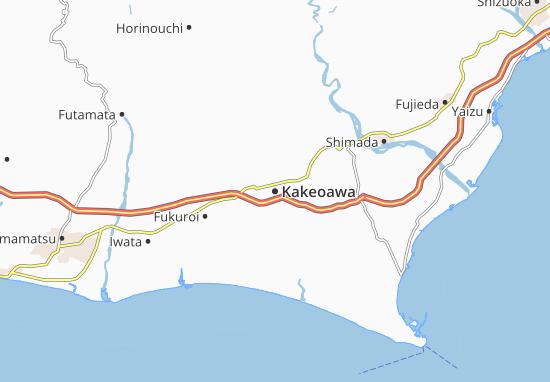 Kakeoawa Map