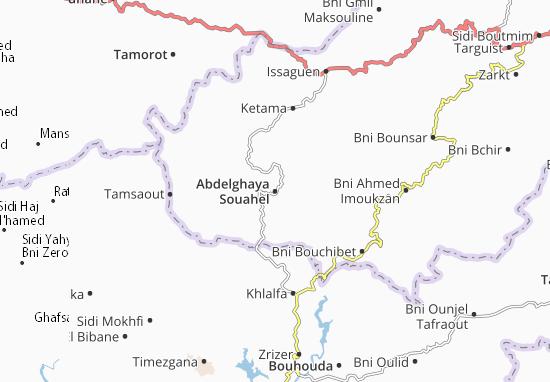 Carte-Plan Abdelghaya Souahel