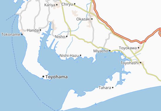 Nishi-Hazu Map
