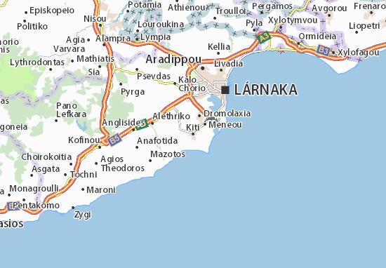 Mapa Plano Kiti