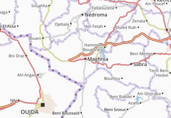 Carte-Plan Maghnia