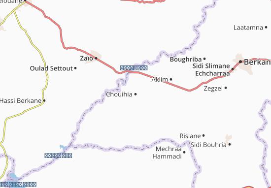 Mappe-Piantine Chouihia