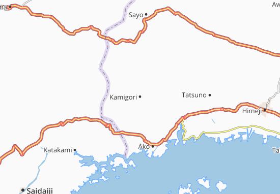 Kamigori Map