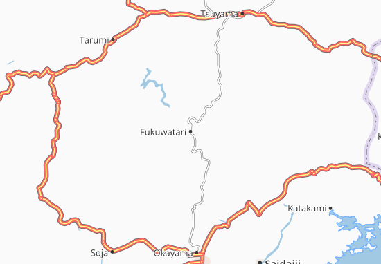 Fukuwatari Map
