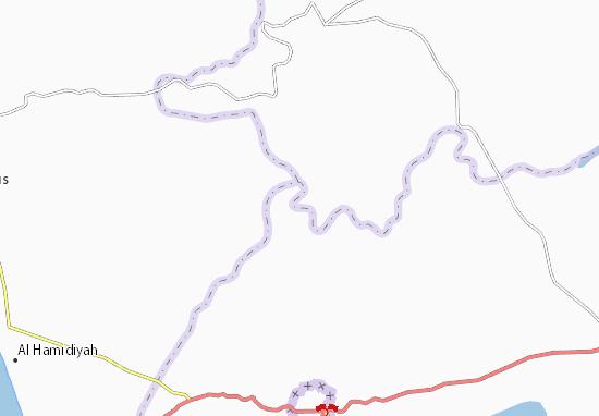 Mapa Plano Juwaykhat