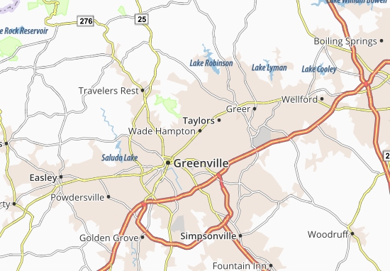 Wade Hampton Map