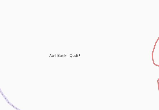 Kaart Plattegrond Ab-I Barik-I Qudi
