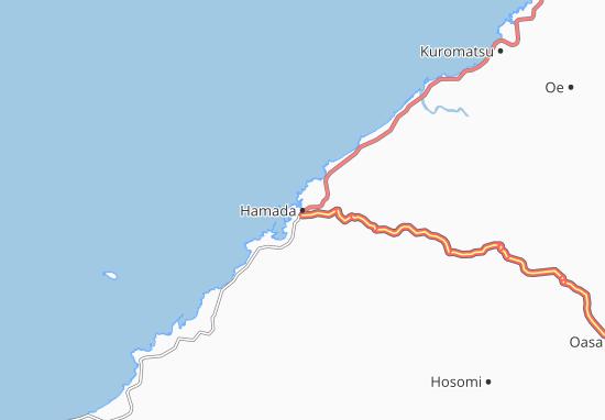 Kaart Plattegrond Hamada