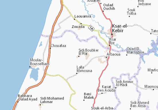 Mapas-Planos Sidi Boubker El Haj